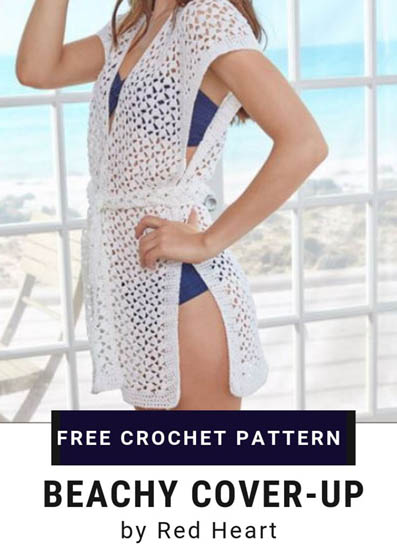 Free Crochet Pattern Beachy Cover Up