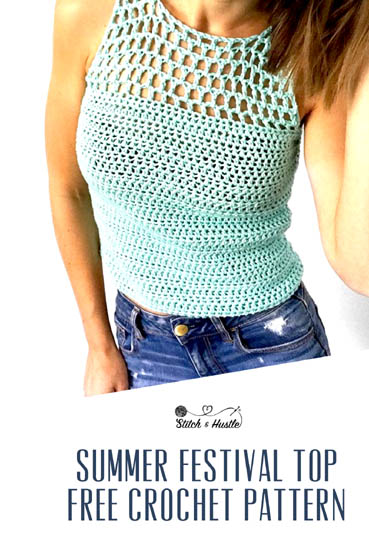 Free Crochet Pattern Catalina Tank Top