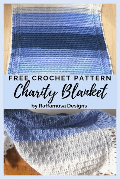 Free Crochet Pattern Charity Blanket