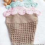 Free Crochet Pattern Double Scoop Snuggle Sack