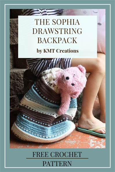 Free Crochet Pattern Drawstring Backpack