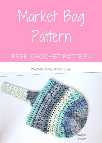 Free Crochet Pattern Market Bag