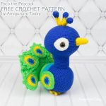 Free Crochet Pattern Paco the Peacock