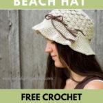 Free Crochet Pattern Pebble Beach Hat