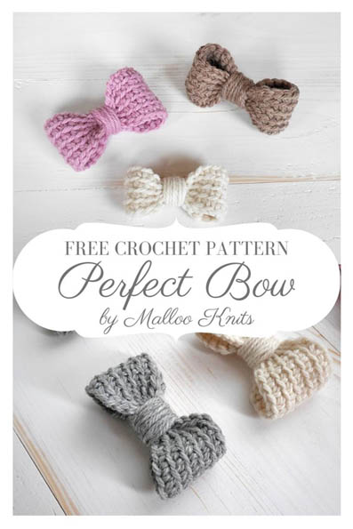 Free Crochet Pattern Perfect Bow