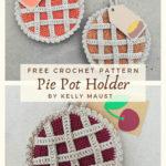 Free Crochet Pattern Pie Pot Holder