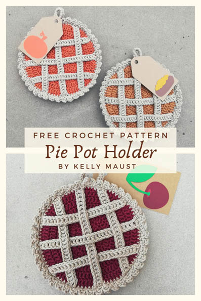 Free Crochet Pattern Pie Pot Holder