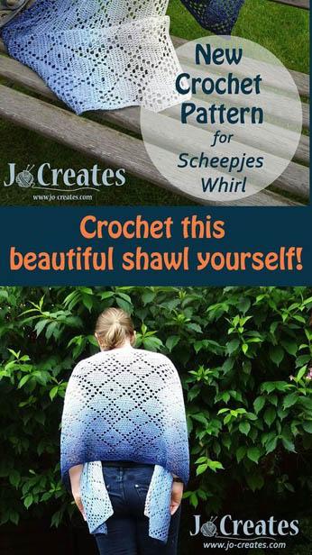 Free Crochet Pattern Rough Diamond Shawl