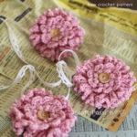 Free Crochet Pattern Ruffle Flower