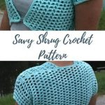 Free Crochet Pattern Savy Shrug