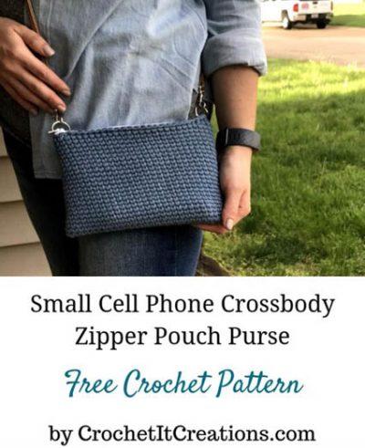 Free Crochet Pattern Small Crossbody Purse
