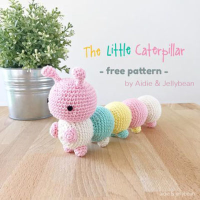 Free Crochet Pattern The Little Caterpillar