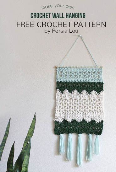 Free Crochet Pattern Wall Hanging