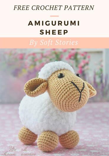 Free Crochet Pattern Amigurumi Sheep