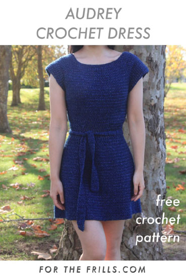 Free Crochet Pattern Audrey Crochet Dress