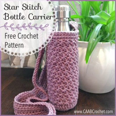 Free Crochet Pattern Bottle Holder