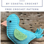 Free Crochet Pattern Brendan Bluebird