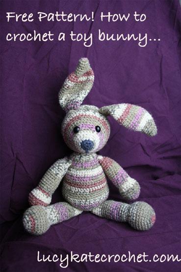 Free Crochet Pattern Bunny