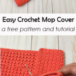 Free Crochet Pattern Easy Mop Cover