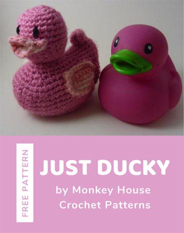Free Crochet Pattern Just Ducky
