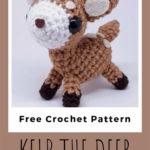 Free Crochet Pattern Kelp the Deer