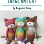 Free Crochet Pattern Large Ami Cat