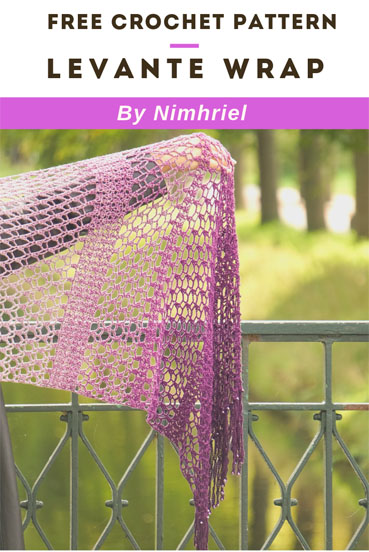 Free Crochet Pattern Levante Wrap