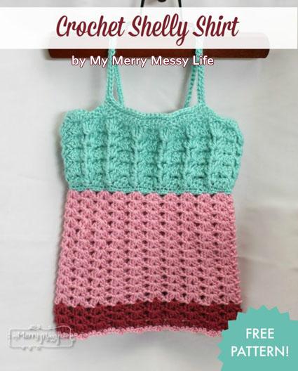 Free Crochet Pattern Shelly Shirt