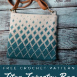 Free Crochet Pattern Titan Tapestry Bag
