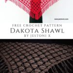Free Crochet Pattern Dakota Shawl