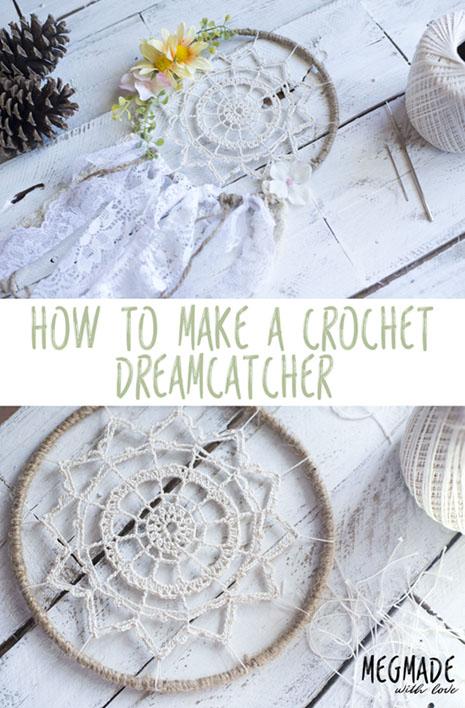 Free Crochet Pattern Dreamcatcher