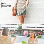 Free Crochet Pattern Duo Poncho