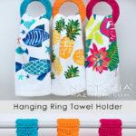 Free Crochet Pattern Hanging Ring Towel Holder