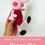 Free Crochet Pattern Peppa Pig