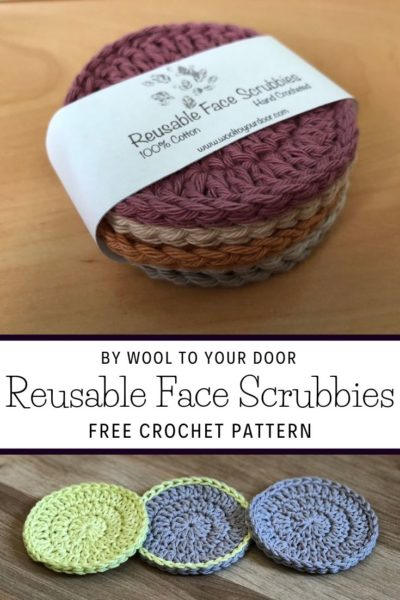 Free Crochet Pattern Reusable Face Scrubbies
