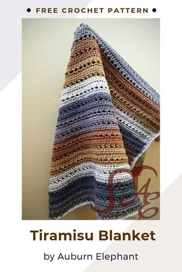 Free Crochet Pattern Tiramisu Blanket