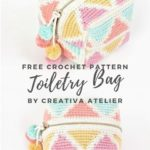 Free Crochet Pattern Toiletry Bag