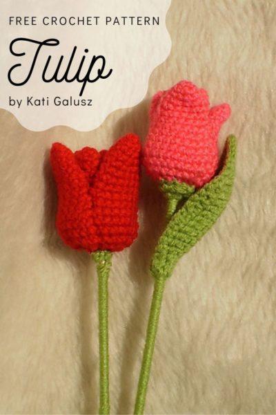 Free Crochet Pattern Tulip