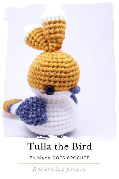 Free Crochet Pattern Tulla the Bird