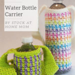 Free Crochet Pattern Water Bottle Carrier