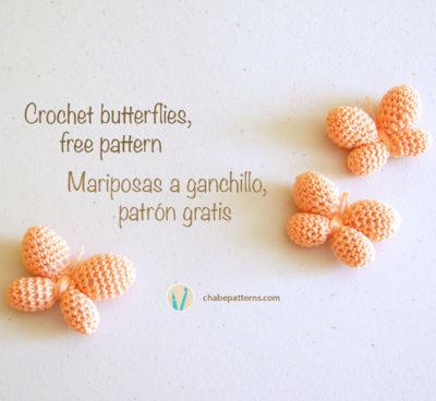 Free Crochet Pattern Butterflies