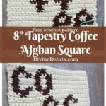 Free Crochet Pattern Coffee Afghan Square