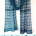 Free Crochet Pattern Delicate Lace Scarf