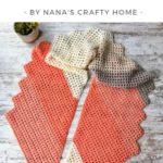 Free Crochet Pattern Desert Sands Scarf