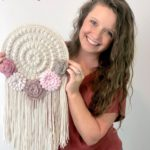 Free Crochet Pattern Floral Wall Hanging