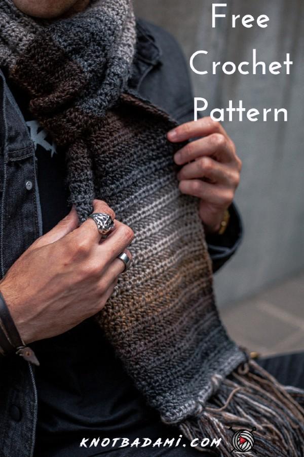 Free Crochet Pattern Herbal Remedy Scarf