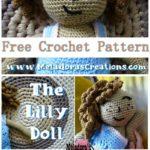 Free Crochet Pattern Lilly Doll