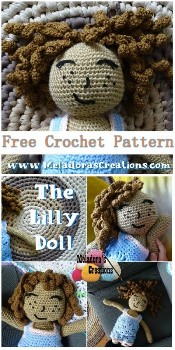 Free Crochet Pattern Lilly Doll