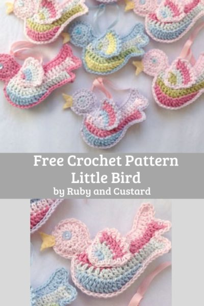 Free Crochet Pattern Little Bird