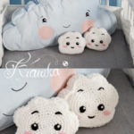 Free Crochet Pattern Mini Cloud Pillow